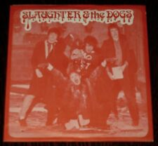 """SLAUGHTER & THE DOGS Cranked Up Really High 1977 UK Punk 7"""" w/ Pic Sleeve 45 NM"""