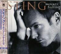 STING Mercury Falling JAPAN CD OBI_POCM-1165