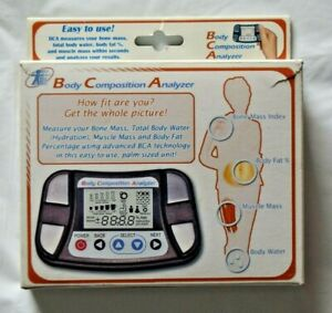 BRAND NEW in Box Vintage Handheld Body Composition Analyzer - Made in Japan