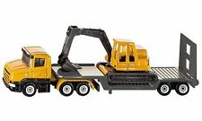 BRAND NEW - SIKU - 1611 - LOW LOADER WITH EXCAVATOR - GREAT GIFT IDEA