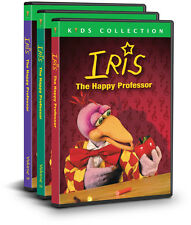 Iris the Professor (3 DVD Set) NEW, Science for preschoolers, puppets, animation