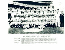 1963 LOS ANGELES DODGERS WORLD CHAMPS 8X10 TEAM PHOTO  BASEBALL MLB HOF