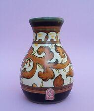 Royal Zuid Gouda Vase Keramik  Art Deco Holland um 1940 Dekor Sary