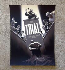 Trial Phantom City Creative PCC Mondo Regular Poster Print Art Batman BTAS