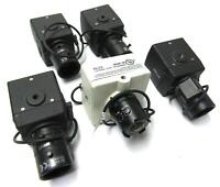 5x Assorted Color CCD Bullet Cameras   1x Ikegami ICD-501, 4x Pelco CCC1380UH-6