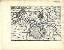 Carte antique, Grenoble
