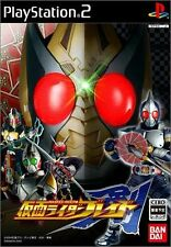 Used PS2 Kamen Rider Blade   Japan Import (Free Shipping)