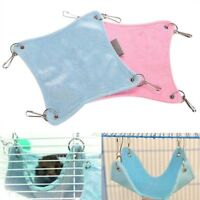 New Cute Pet Sleeping Hanging Bed Warm Plush Cloth Hamster Pet Cage Accessories