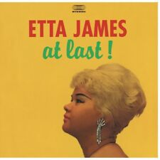 Etta James AT LAST! 180g LIMITED EDITION New Sealed Blue Colored Vinyl Record LP