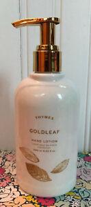 THYMES - GOLDLEAF - HAND LOTION 8.25 OZ PUMP gold leaf