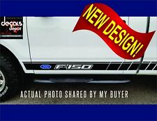 Decal Vinyl Decal FORD F-150, F250 F350 XL XLT Platinum King Ranch Crew Cab SVT