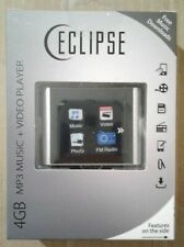 "Eclipse T180 1.8"" 4GB MP3 Clip Style Digital Audio LCD Video Player - Silver NEW"