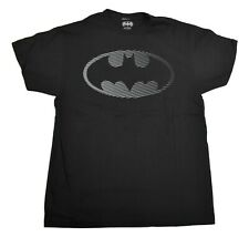 Mens Batman Striped Logo Shirt New M, L, XL