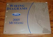 Original 2005 Ford Mustang Wiring Diagrams Manual 05
