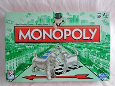 Monopoly Property Trading Game with CAT TOKEN Speed Die 2014 Hasbro COMPLETE