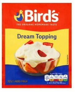 Birds Dream Topping 36G - No Added Sugar