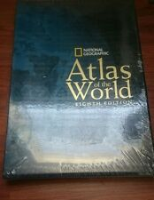 ATLAS OF THE WORLD - By National Geographic - EIGHTH EDITION - Retail $ 165.00