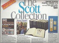 Scott US Postal Cards #15 Supplement 110S091