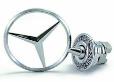 44mm Bonnet Emblem Front Hood Badge Star Logo For Mercedes Benz
