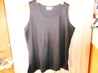 braune Damen Träge- Shirt ,Top von Adler Gr.42 Model-Chicc-locker sitzend