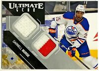 2014-15 Upper Deck Ultimate Collection Gear Darnell Nurse RC Dual Jersey Oilers