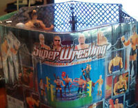 Liberty Imports Mini Wrestling Ring Playset with Figures New