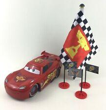 Disney Pixar Cars Flag Finish Lightning McQueen Remote Control Complete 2015