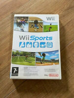 Wii Sports Nintendo Wii Game - Boxed With Instructions
