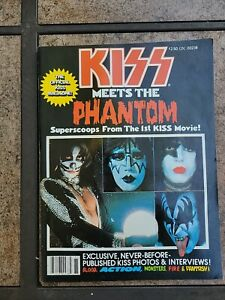 KISS VINTAGE 1978 78 PHANTOM of the PARK MAGAZINE ACE PETER GENE & PAUL