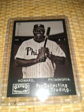2009 Topps Heritage Mayo #RH Ryan Howard - NM-MT Philadelphia Phillies