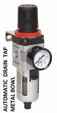 Air Filter/Regulator with Gauge  Bodyshop Compressor sa2001/frV2