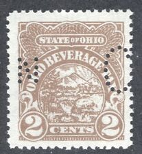 OHIO State Revenue Beer Tax Stamp SRS OH B5S