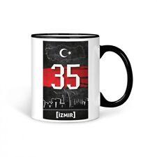 tazza caffè Turchia izmir 35 Türkiye Plaka V2