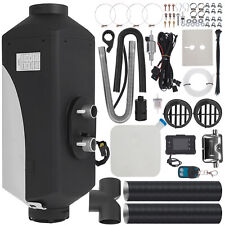12V 5KW Air Diesel Heater Remote W/ Silencer 10L Tank For Trucks Boat Car od