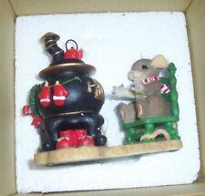 Fitz and Floyd You Give Me A Warm Feeling. Charming Tales Nib Christmas Figurine
