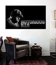 Biggie Smalls Notorious 30 x 20 Canvas Print Hip Hop Poster Mural