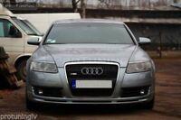 For Audi A6 4F C6 04-08 Front Bumper spoiler style lip Valance addon S-Line S6
