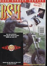 BSH THE EUROPEAN CUSTOM BIKE MAGAZINE - August 2002