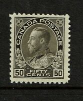 Canada SC# 120a Mint Light Hinged / Wet Printing - S5463