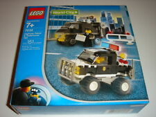 POLICE 4WD and UNDERCOVER VAN, Lego World City: Police 7032 - NEW in Sealed Box!
