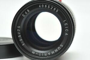 Leica 75mm f/2.5 Summarit-M Manual Focus Lens (6-bit)