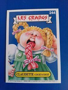 Les crados 2 / Carte numéro 244.