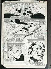 ALL-STAR SQUADRON #48 1985 MIKE HARRIS ORIGINAL ART
