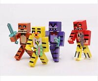 4 x Five Nights at Freddys FNAF Figures Set Bonnie Chica Foxy Fazbear Plastic