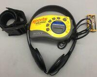 Sony SRF-M78 Sports Walkman AM/FM Radio w/Armband & Headphones - No Clip - D18