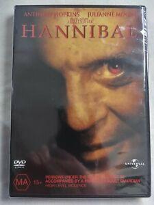 HANNIBAL 2001 DVD  Thriller Anthony Hopkins FREE POSTAGE