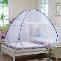 Foldable Yurt Mosquito Tent Net Netting Protective Canopy Bedding Prevent Insert