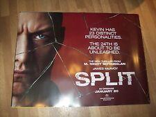 Split UK Cinema Quad Poster d/s full size ORIGINAL set of 3 James McAvoy