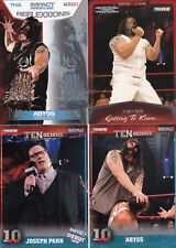BORN IN WASHINGTON D.C. WWE TNA 4 ABYSS JOSEPH PARK WRESTLING CARDS