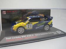 Seat Sport Cordoba WRC  Rally Cataluña 2001 Cañellas IXO 1/43 cochesaescala